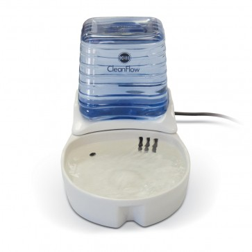 CleanFlow Ceramic Filtered Water Bowl in natural
