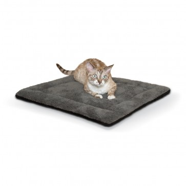 Self-Warming Pet Pad gray/black