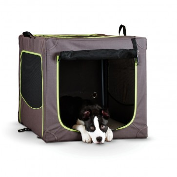 K&H Classy Go Soft Crate front