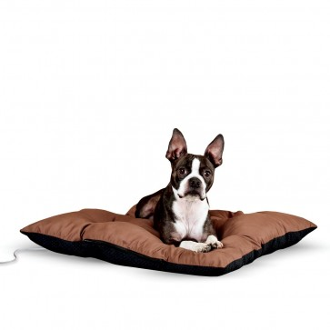 K&H Thermo-Cushion Pet Bed chocolate