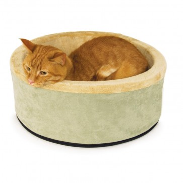 K&H Thermo-Kitty Bed Sage/Tan