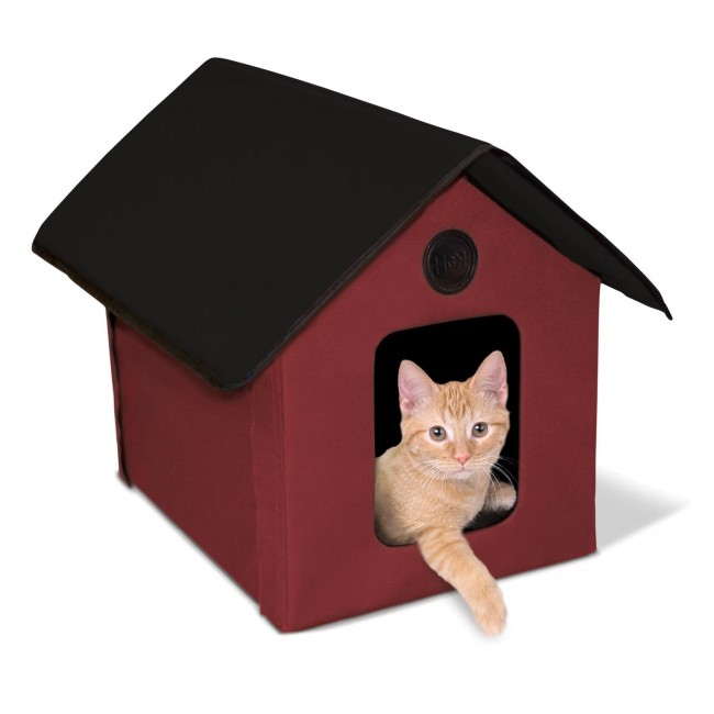 K Amp H Outdoor Kitty House