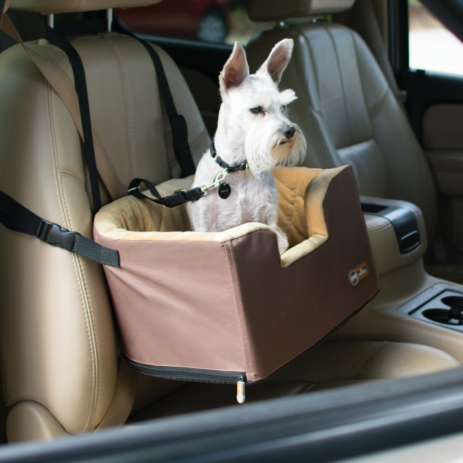 Pet Booster Seat >> K&H Hangin' Bucket Booster® - Toy Breed Elevated Dog Car Seat - K&H Pet Products