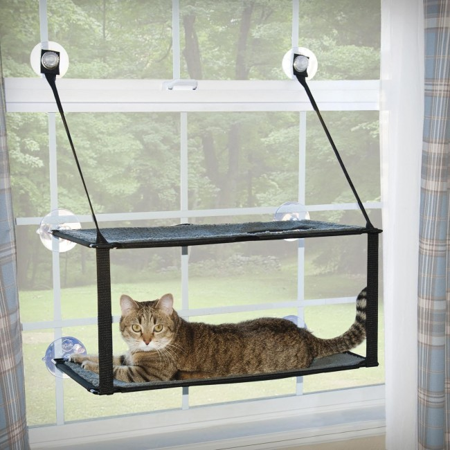 K Amp H Kitty Sill Double Stack Ez Window Mount