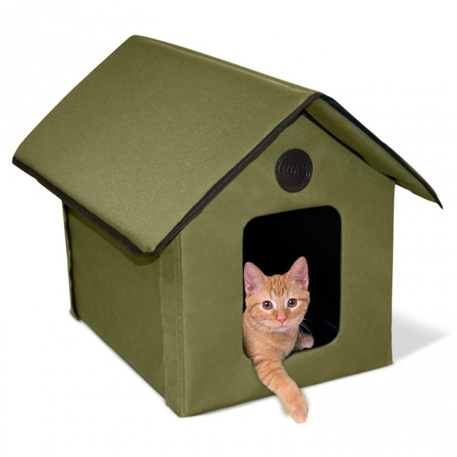 K&H Outdoor Kitty House™ on designs for outdoor cat enclosures, designs for chicken coops, designs for dog runs,