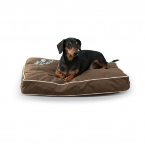 Just Relaxin' Indoor-Outdoor Pet Bed chocolate